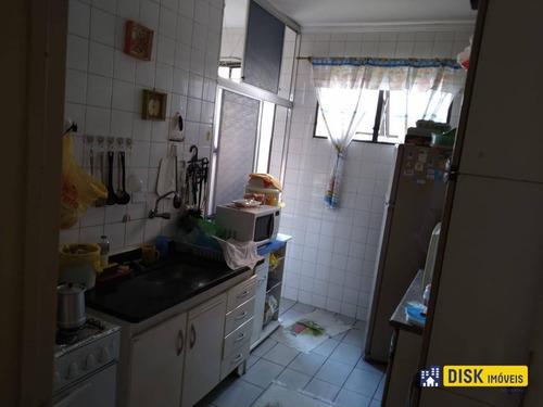 Apartamento Com 2 Dormitórios À Venda, 58 M² Por R$ 245.000,00 - Conjunto Residencial Pombeva - São Bernardo Do Campo/sp - Ap0529