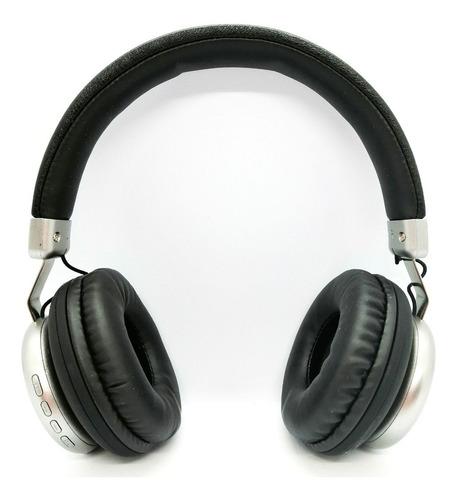 Audifonos Bluetooth Llamadas Fm Acabado De Lujo En Cuerotex