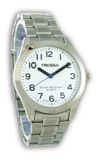 Reloj Hombre Metal Tressa Wr Garantía 12 Meses