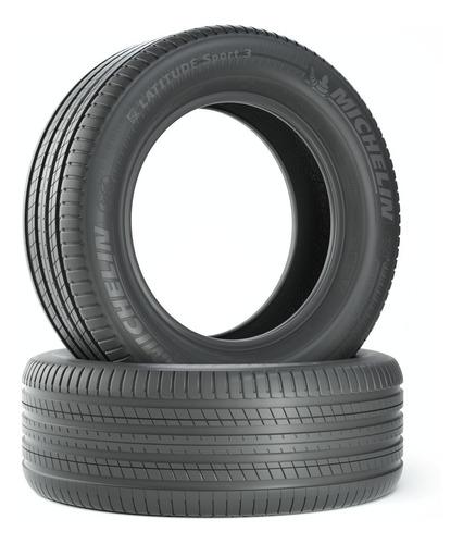 Kit X2 285/45-19 Michelin Latitude Sport 3 111w Zp Rft