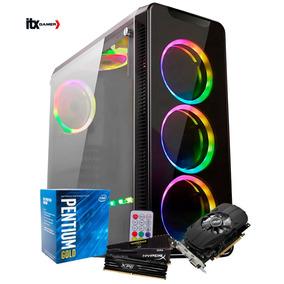 Pc Gamer Moba Pentium Gold G5400 / Gtx 1050ti 4gb / 8gb