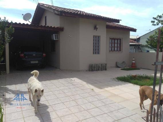 Casa Com 2 Dormitórios À Venda, 67 M² Por R$ 260.000,00 - São Sebastião - Palhoça/sc - Ca0701