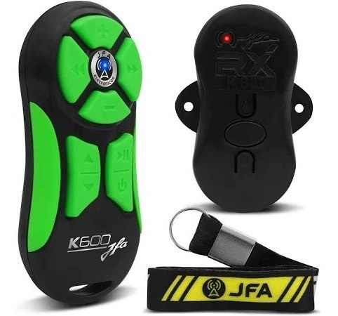 Controle Longa Distância Jfa K600 Preto Verde Laranja