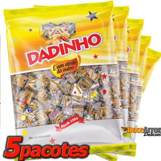 Dadinho Tradicional Atacado 5 Pacotes Com 900gr Cada
