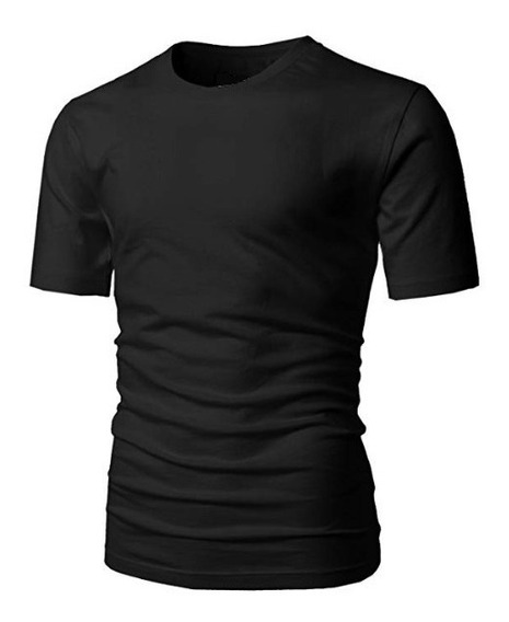 Pack X4 Remeras Entalladas Cuello Redondo Slim Fit !!!