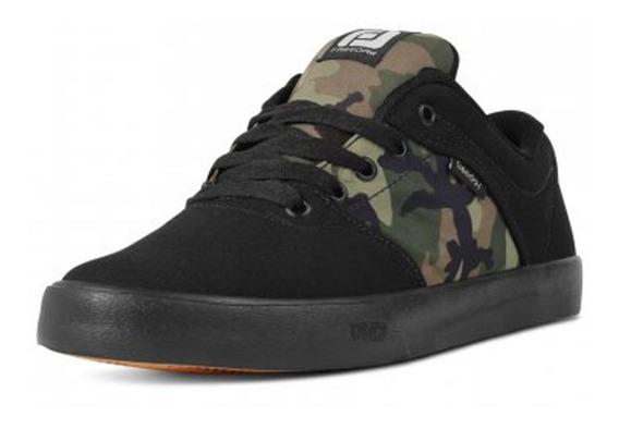 Tênis Skate Camuflado/preto