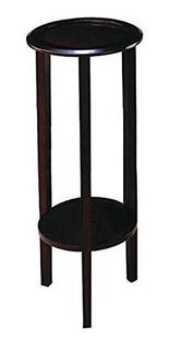 Mesa Pedestal Redonda Para Adornos, Plantas O Teléfono