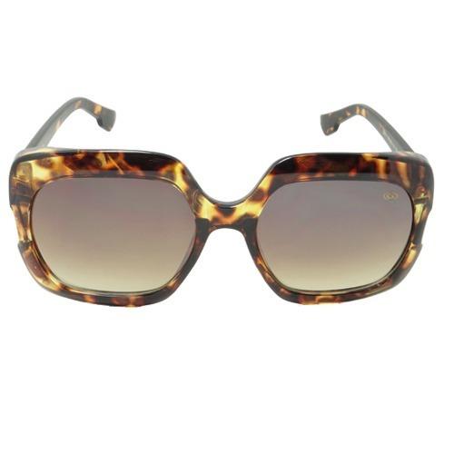 Óculos De Sol Quadrado Marrom Geror 02535 Desconto 30%