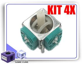 Kit 4x Reparos Analógico Potenciômetro Controle Gamecube