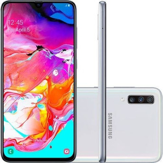 Celular Samsung Galaxy A70 128gb 32mp Tela 6.7 Branco