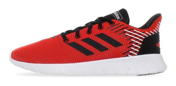 Tenis adidas Asweerun - F36995 - Rojo - Hombre