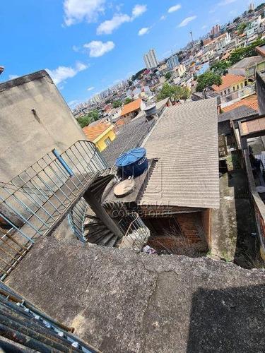 Terreno À Venda, 121 M² Por R$ 200.000,00 - Parque João Ramalho - Santo André/sp - Te1084