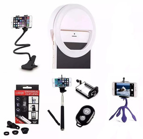 Ring Light + Kit Youtuber Para Celular + Suporte Flexivel +