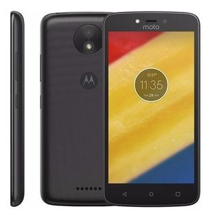 Motorola Moto C Plus Xt1726 - 16gb 8mp 4g Dual Tv De Vitrine