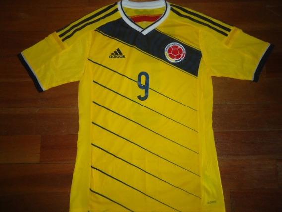 Unica!! Camiseta Colombia Original Oficial Utileria #9