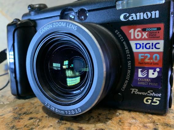 Câmera Semi Profissional Canon G5