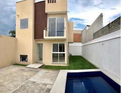 Casa Sola En Jiutepec Morelos 1950.000.00
