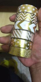 Kit Washi Tape 5 Unidades 15mm X 10m Frete Grátis*
