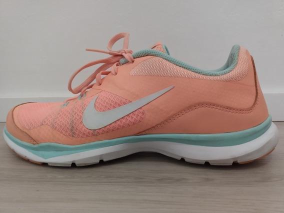 Zapatillas Nike Training Flex Tr5 Mujer Coral Claro 38.5
