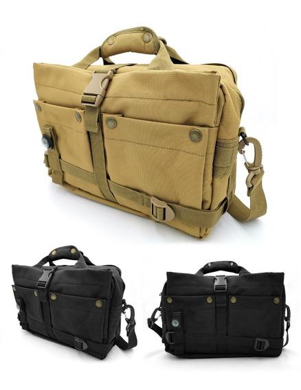 Mochila Militar Portafolio Compacto Maletin Tactico iPad Pro