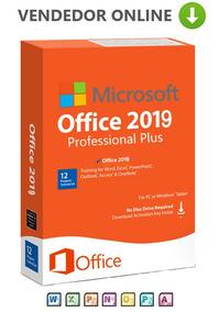Office 2019 Pro Plus + Licença Original Ativação Garantida