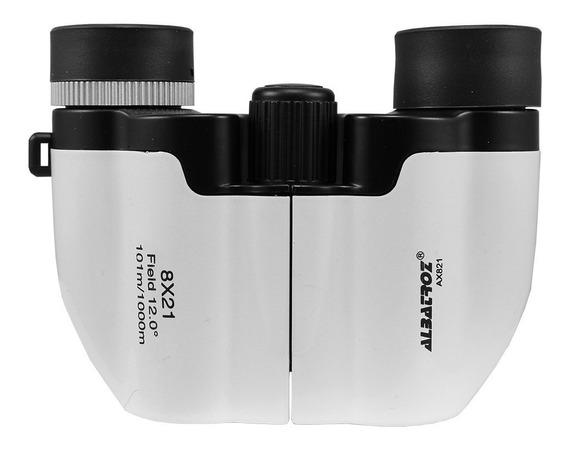 Binóculo Albatroz Wyj-ax821 Silver 8x