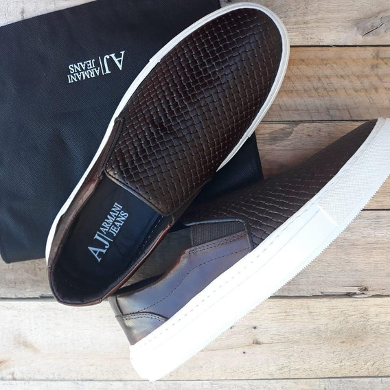 Slip On Cafe /preto Atacado E Varejo