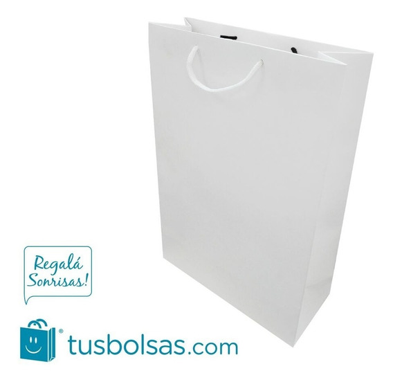 Bolsa De Cartulina Pequeña (25,5x16x8cm) Pack 25u.