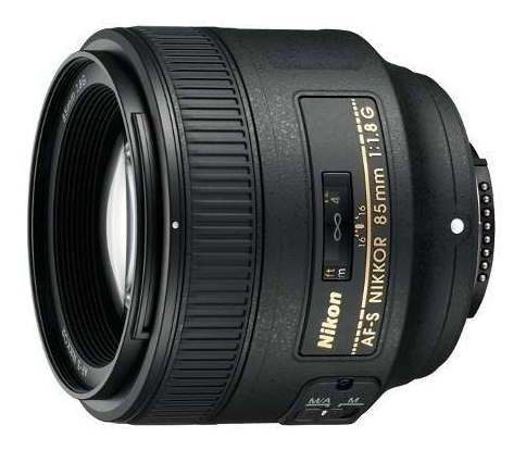 Lente Nikon Af-s Fx Nikkor 85mm F/1.8g