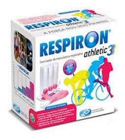 Respiron Athletic 3 Exercitador E Incentivador Respiratório