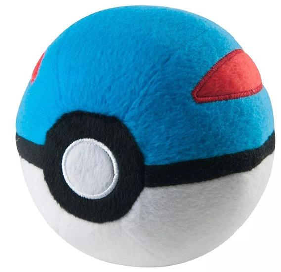 Pelúcia Pokémon Great Ball 12,5cm - Tomy