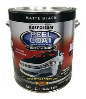 Peel Coat Negro Mate Autos Lata 3,78 Lt Rust Oleum Sibaco