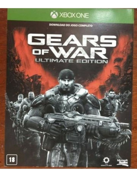 Gears Of War Ultimate Xbox One 25 Dígitos Envio Imediato