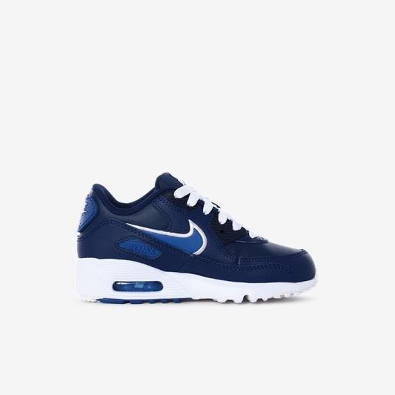 Tênis Nike Air Max 90 Leather Az Tamanho 34