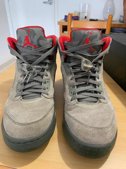 Air Jordan 5 Olive Camo 42 Br / 10 Us - Enviando Normalmente