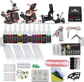 Kit 3 Máquina Profissional De Fazer Tatuagem Completa.