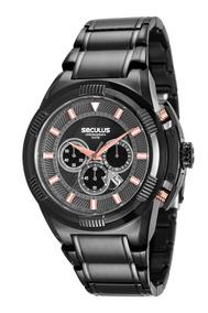 Relógio Seculus Masculino 20481gpsvpa1