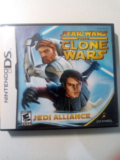 Star Wars The Clone Wars Jedi Alliance Nintendo Ds