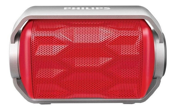 Caixa De Som Philips 2,8w Bluetooth À Prova Dágua Bt2200r