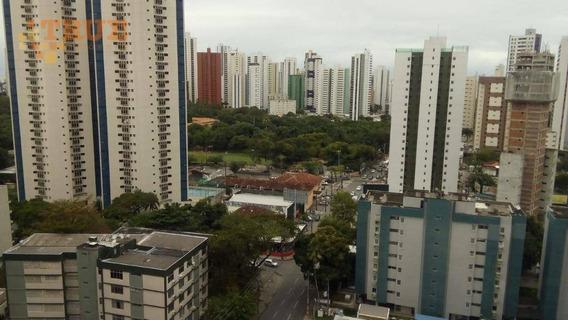 Apartamento Com 3 Dormitórios À Venda, 87 M² Por R$ 470.000 - Tamarineira - Recife/pe - Ap3501