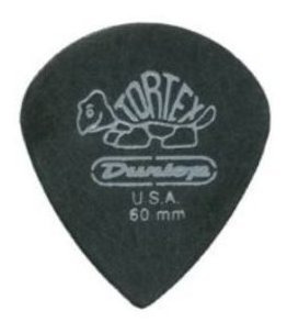 Dunlop 482r.60 Tortex Pitch Black Jazz Iii, .60mm, 72 / Bols