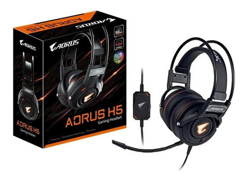Auriculares Gamer Gigabyte Aorus H5 Rgb Fusion 2.0 Beryllium