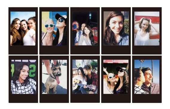 Filme Papel Instax Mini Black 7, 8 E 9 - 10 Fotos 5,4 X 8,6