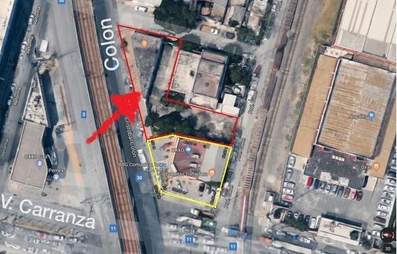 Bodega Comercial Renta Con Tres Frentes En Colon Y Venustiano Carranza | Bodega Comercial En Renta