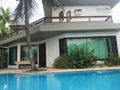 Casa Residencial Para Locação, Acapulco, Guarujá. - Ca0298