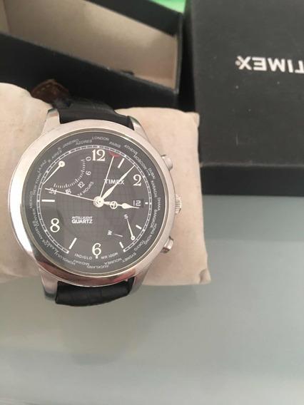 Relógio Timex T2n 609 Seleção De Fuso
