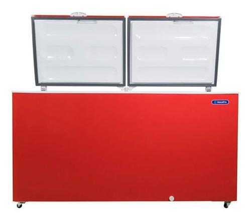 Freezer Metalfrio Da550rojo