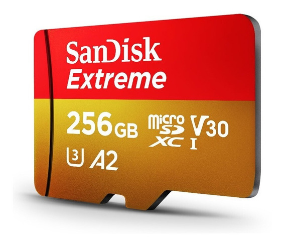 Sandisk Extreme Micro Sd 256 Gb Cartão De Memória Micro Sd S