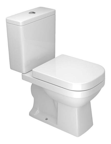 Kit Privada/vaso Sanitário E Caixa Acoplada Deca + Acessórios Quadra Branco