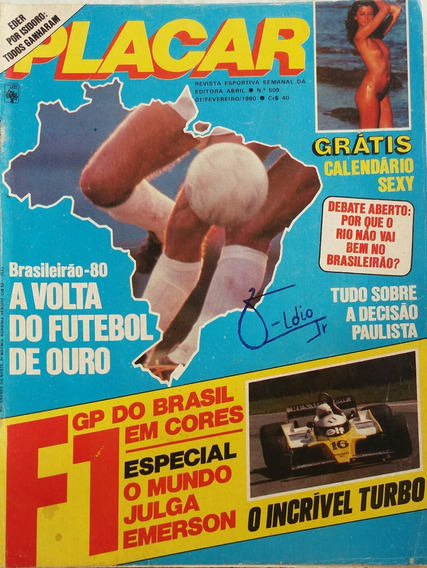 Revista Placar N° 509 - 01.02.1980